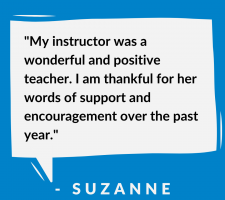 success story - Suzanne
