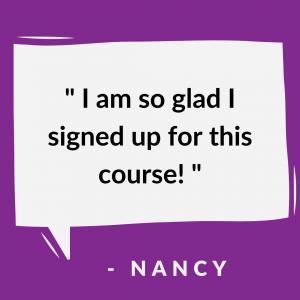 Success Story - Nancy