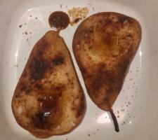 Cinnamon Baked Pears