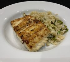 Ginger Crusted Fish