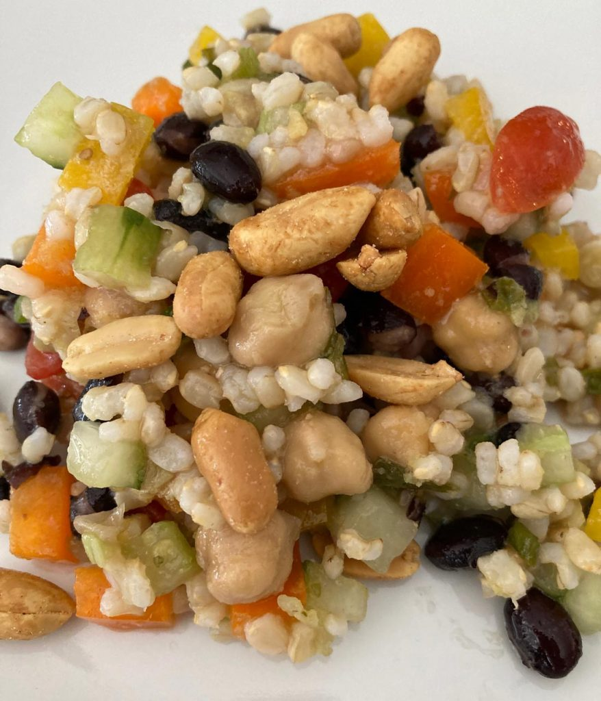 Chickpea, and Black Bean Salad